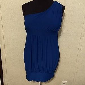 Body Central one shoulder dress